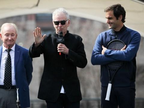 John McEnroe reveals the brutal way he'd deal with Roger Federer's SABR