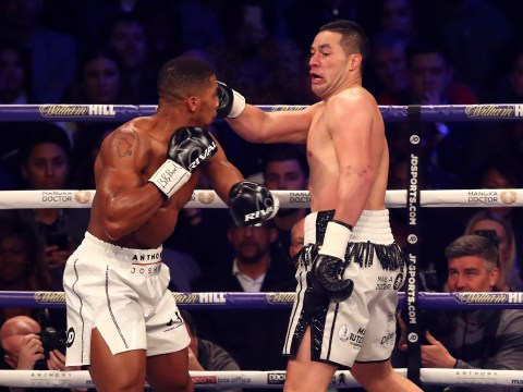 Dillian Whyte labels Joseph Parker a coward after Kiwi's showing against Anthony Joshua