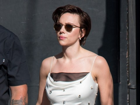 What is Scarlett Johansson's trans movie Rub & Tug about and what role is she playing?
