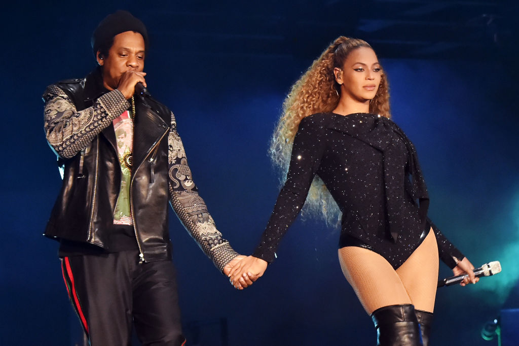 Beyonce and Jay-Z let their hair down and watch dance-off at On The Run II after party