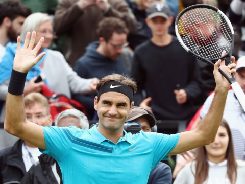 Roger Federer calls himself 'incredibly sexy' in awkward Wimbledon exchange