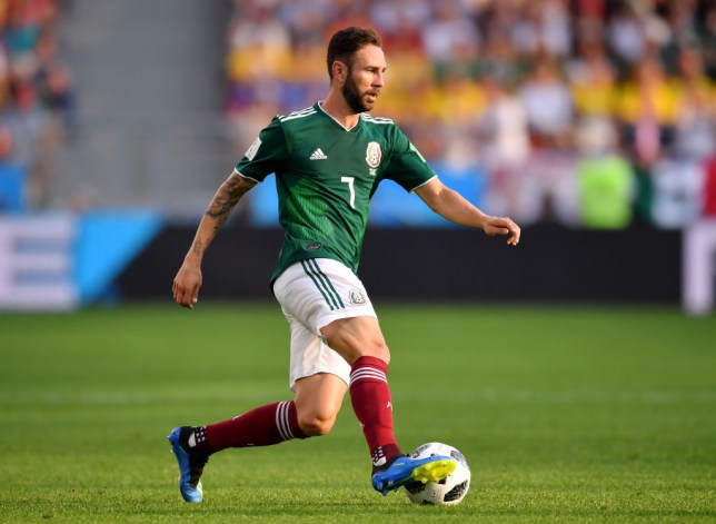 0bc412cac Arsenal interested in Miguel Layún after Sevilla miss deadline to sign  Mexico star