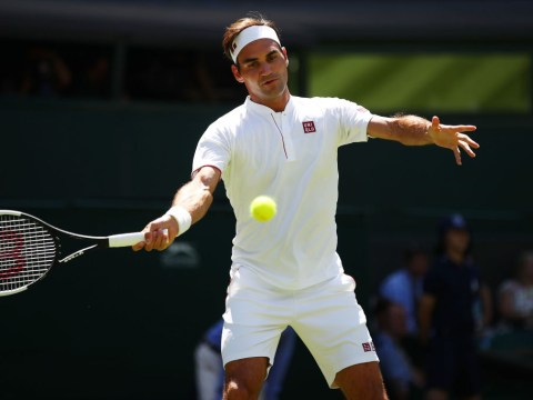 Roger Federer reveals why he unleashed incredible SABR shot during Wimbledon win