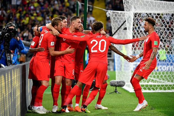 Harry Kane and Jordan Pickford shine as England end penalty shootout curse against Colombia