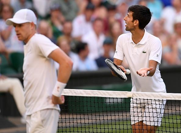 Wimbledon: Novak Djokovic speaks out on double-bounce controversy as fans slam 'cheater' Kyle Edmund
