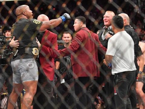 Daniel Cormier vs Brock Lesnar cannot happen until 2019, according to USADA rules