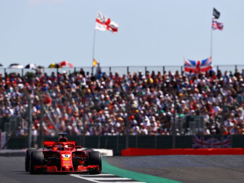 Lewis Hamilton recovers from first lap crash as Sebastian Vettel wins British Grand Prix