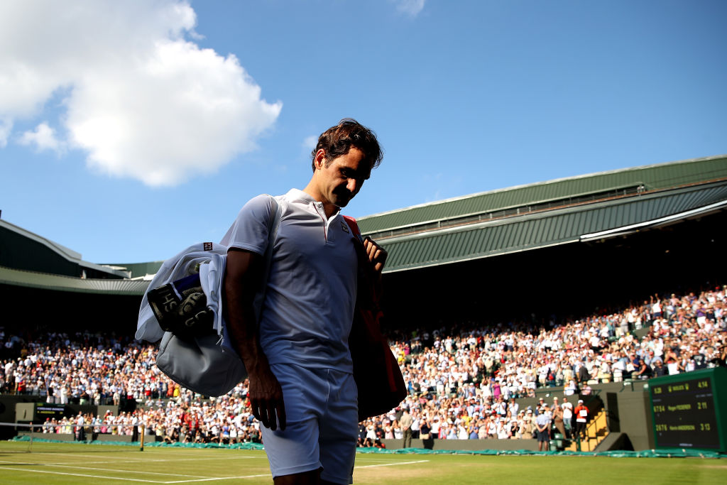 Roger Federer crashes out of Wimbledon after stunning Kevin Anderson fightback