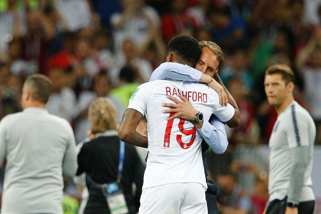 Marcus Rashford sends heartfelt message to Gareth Southgate after England World Cup heartbreak