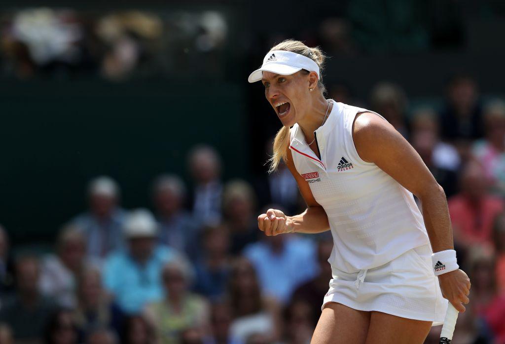 Angelique Kerber dominates Jelena Ostapenko to return to Wimbledon final