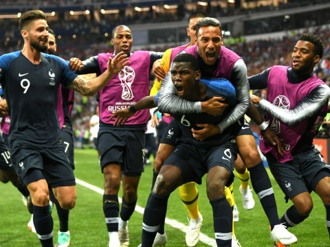 Paul Pogba inspires France to World Cup final victory over Croatia