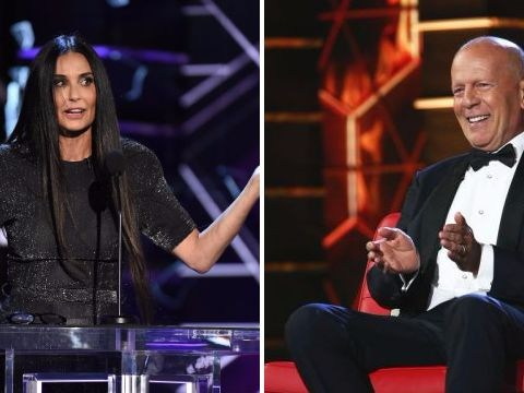 Demi Moore rips Bruce Willis to shreds over 'dead marriage' at comedy roast