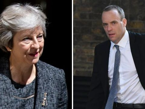 Theresa May demotes Brexit secretary less than two weeks after giving him the job