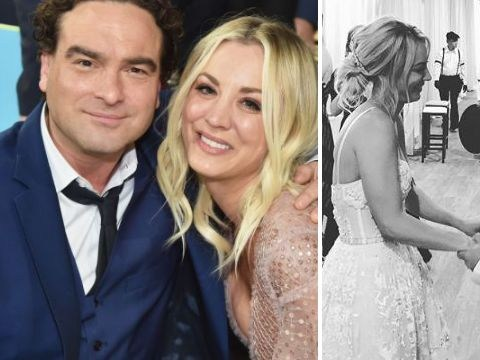 759765268405 Johnny Galecki changes his tune with sweet message to Kaley Cuoco as she  marries Karl Cook