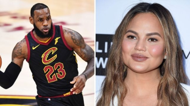 LeBron James is moving to LA Lakers and Chrissy is pretty excited