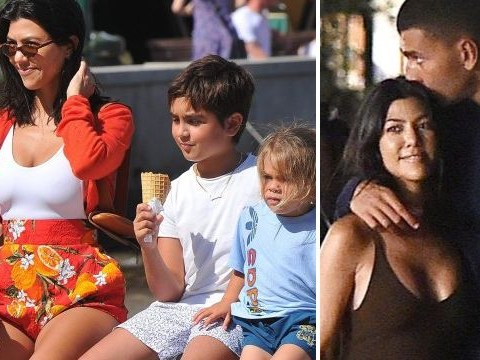 Kourtney Kardashian and Younes Bendjima get serious as they holiday with her kids