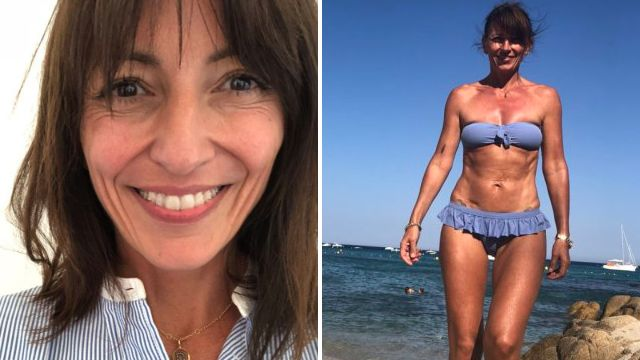 Davina McCall vows to keep posting bikini selfies: 'I look strong and I feel strong'