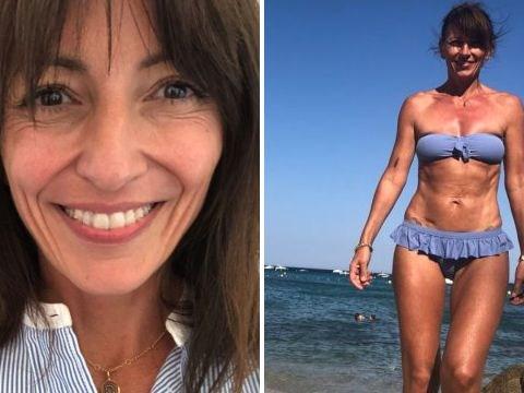 Davina McCall vows to keep posting bikini selfies: 'I look strong and I feel strong'