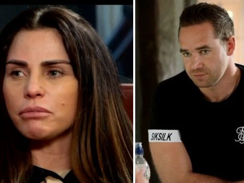 Katie Price vows to 'fight back' as she reveals the moment she gave Kieran Hayler the shove in My Crazy Life