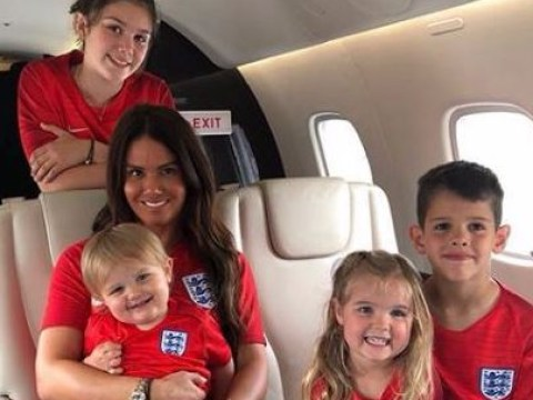 Rebekah Vardy leads WAG squad ahead of England's World Cup quarter final against Sweden