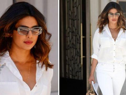 Priyanka Chopra reminds Nick Jonas how lucky he is as she slays in all-white