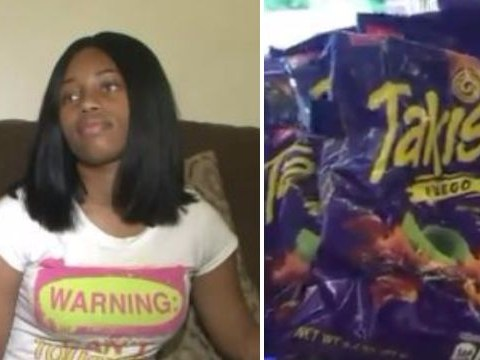 Girl has gallbladder removed after eating too many bags of hot chips