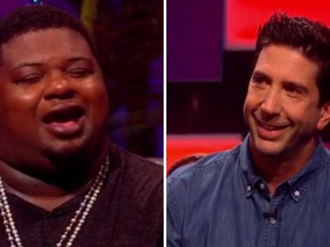 Watch David Schwimmer deliver 'gang' Friends spoof with Big Narstie
