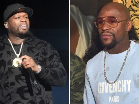 50 Cent and Floyd Mayweather are currently having a really heated argument so grab the popcorn