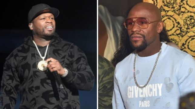 50 Cent and Floyd Mayweather get nasty online (Picture: Getty)