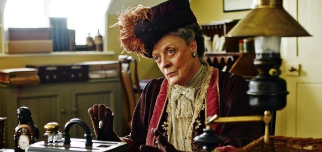 Dame Maggie Smith set to join original TV cast for Downton Abbey movie as Lily James rules herself out