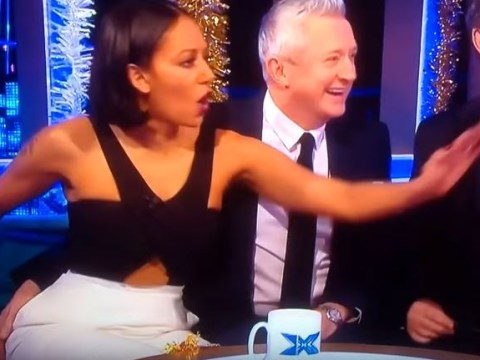 An old clip of Mel B calling out Louis Walsh after he grabbed her bum on The X Factor is dividing fans