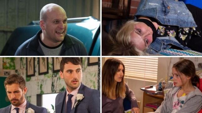 Soap spoilers for Stuart in EastEnders, Bethany in Coronation Street, Damon in Hollyoaks and Debbie in Emmerdale