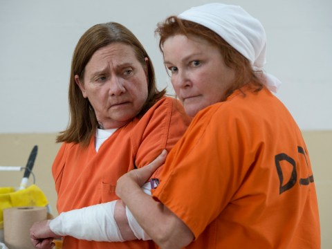 Why is Orange Is The New Black's Red in prison?
