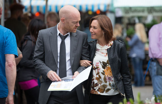 Max and Rainie are confident in EastEnders