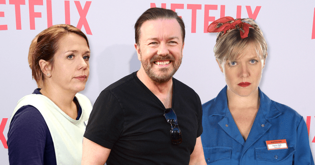Picture: IMDB, Getty Ricky Gervais' Netflix series After Life cast announced