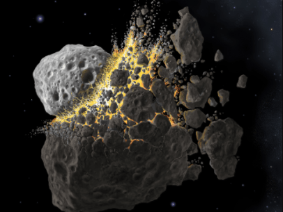 Asteroids are formed from the wreckage of solar system's mysterious dead planets, scientist says