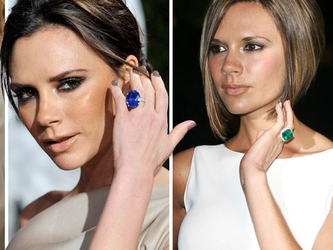 Victoria Beckham proves she is still Posh Spice as she gets her 14th engagement ring from David