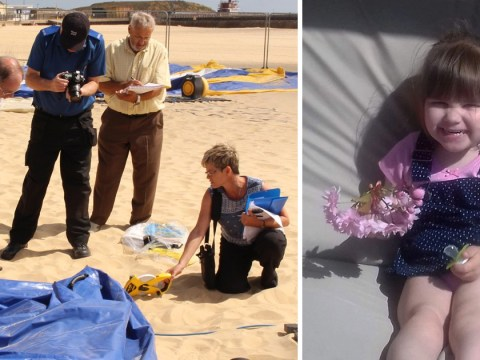 Little girl who died on 'exploding' beach inflatable died from head injury