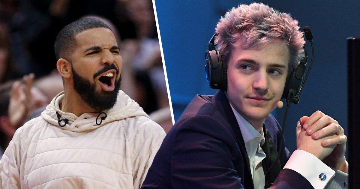 Fortnite God Ninja Says Drake Made Gaming Cool Metro News