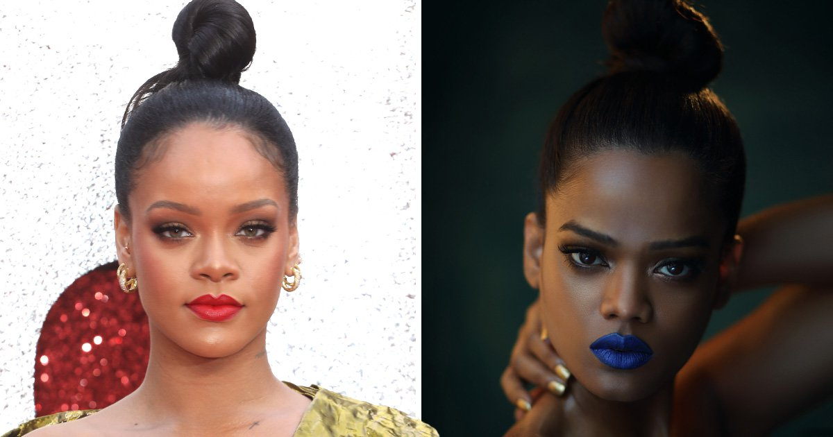 Meet the Indian model everyone thinks is Rihanna's doppelgänger