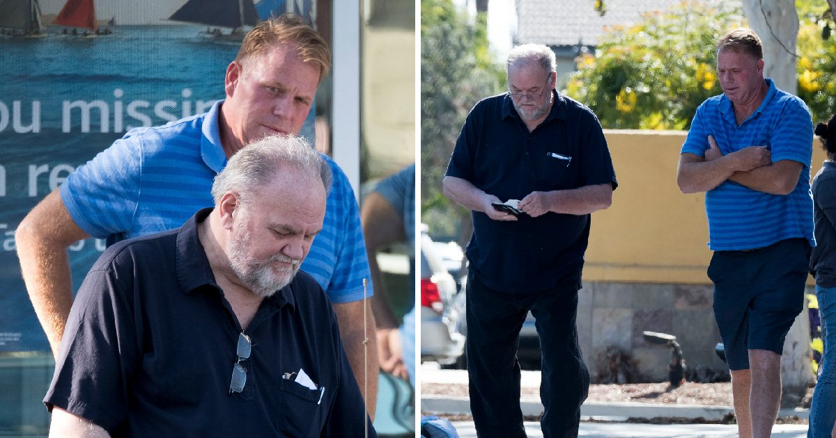 Meghan Markle's father reunites with estranged son amid fears he won't see daughter again