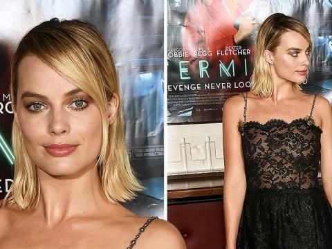 Margot Robbie misses Love Island for Terminal premiere