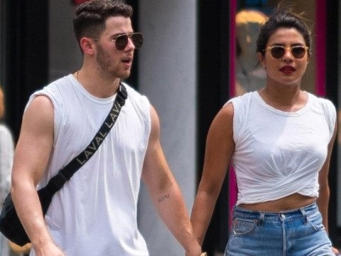 Priyanka Chopra and Nick Jonas can't hide their affection any longer on family bike ride