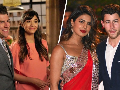 Priyanka Chopra and Nick Jonas compared to New Girl's Schmidt and Cece and it's honestly perfect