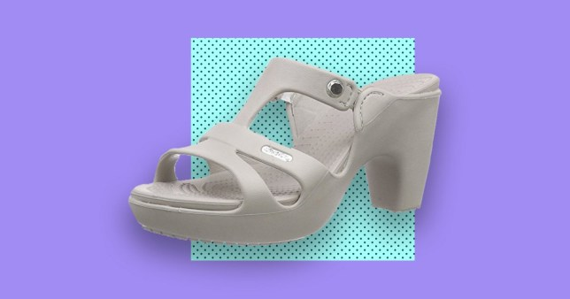 220e953f3 High-heeled crocs are a thing and no words can describe how awful ...