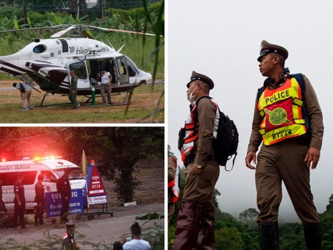 Race to rescue last trapped boys intensifies after night of heavy rain