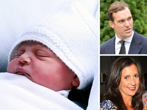 Names of Prince Louis' godparents revealed (and there are six of them)