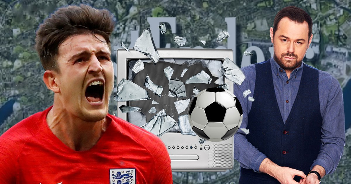 EastEnders will react to England's World Cup loss in special scene tonight