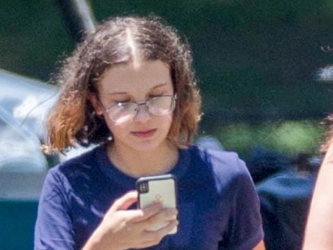 Millie Bobby Brown returns to Stranger Things set with stunt double as she recovers from horrific knee injury