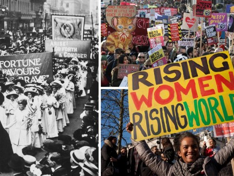 Over 100 years on from the women's suffrage movement, this is why we're still marching